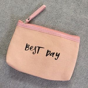 "Handbags - Makeup Bag, ""Best Day"""